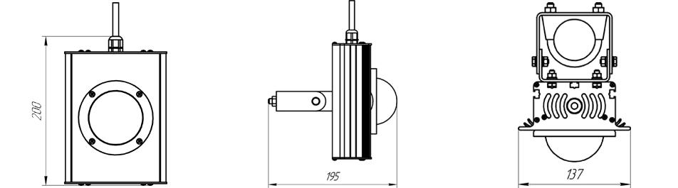 Разработка и производство светодиодных светильников по тех. заданию (ТЗ)